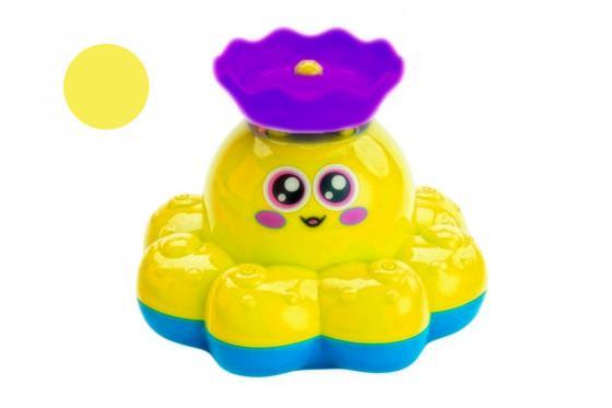 Игрушка детская для ванны «ФОНТАН-ОСЬМИНОЖКА» желтый детская игрушка sile schleich ovp schleich 70022