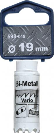 Коронка биметаллическая KWB 598-019 коронка hss bi-metall 19мм коронка биметаллическая kwb 598 030
