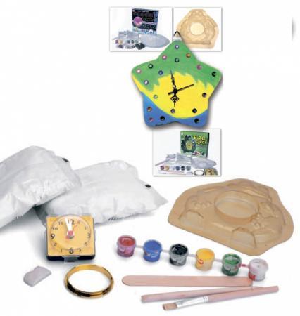 Набор для творчества арт-часы «ЛЯГУШОНОК» DE 0169 наборы для поделок контэнт набор для творчества лягушонок ква п 114
