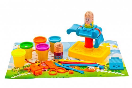 Набор пластилина с формочками «ПАРИКМАХЕРСКАЯ» DE 0224 набор пластилина с формочками креативный пластилин
