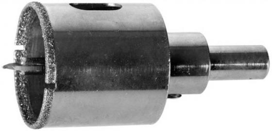 Коронка алмазная ЗУБР 29850-35 ЭКСПЕРТ в сборе по кафелю керамике P60 35мм