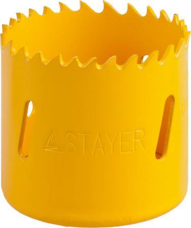 Коронка биметаллическая STAYER PROFESSIONAL 29547-048 d48мм коронка биметаллическая stayer professional 29547 057