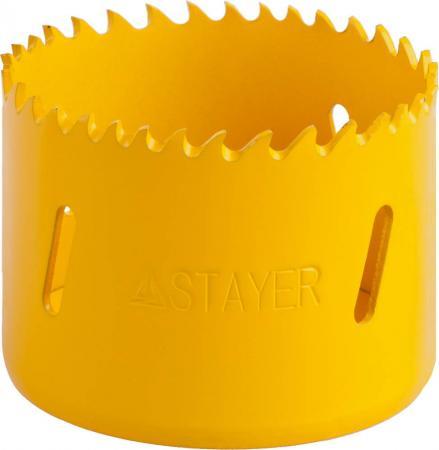 Коронка биметаллическая STAYER PROFESSIONAL 29547-060 d60мм коронка биметаллическая stayer professional 29547 057