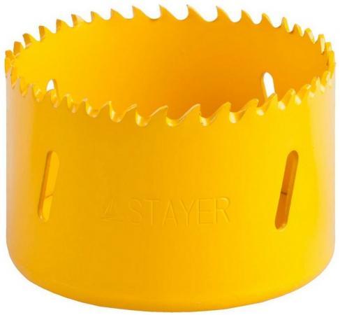 Коронка биметаллическая STAYER PROFESSIONAL 29547-068 d68мм коронка биметаллическая stayer professional 29547 048