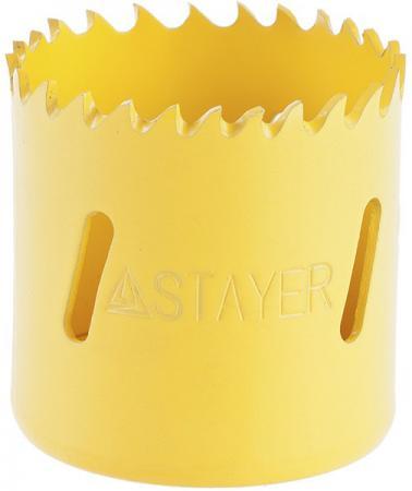 Коронка биметаллическая STAYER PROFESSIONAL 29547-076 d76мм коронка биметаллическая stayer professional 29547 048