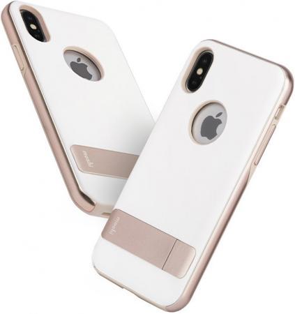 Накладка Moshi Kameleon для iPhone X белый 99MO101032 moshi ivisor ag в москве