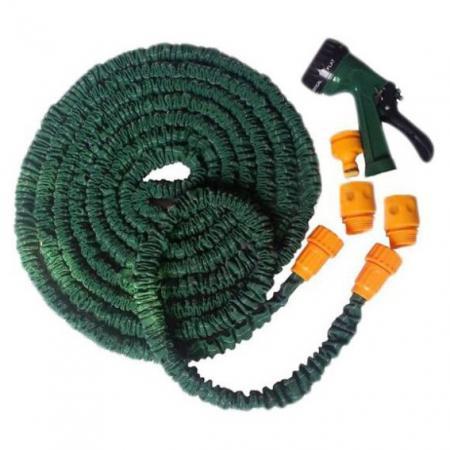 Шланг с лейкой «POCKET HOSE ULTRA», 22 метра/«Xhose» TD 0258 набор для полива шланг и пистолет bradex pocket hose ultra