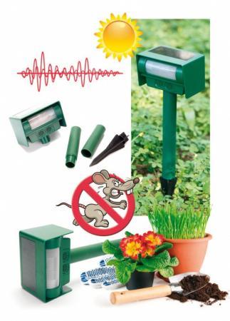цены Прибор для отпугивания животных ультразвуковой на солнечной батарее TD 0338