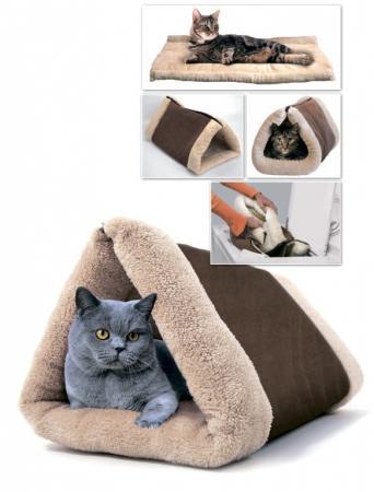 Домик-одеяло для кошек и собак TD 0390