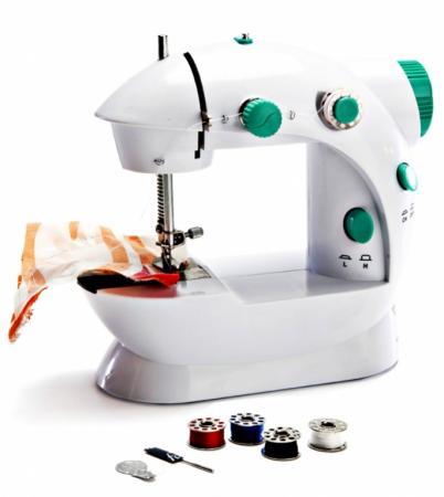 Машинка швейная, компактная «ПОРТНЯЖКА» TD 0162 швейная машина bradex td 0162