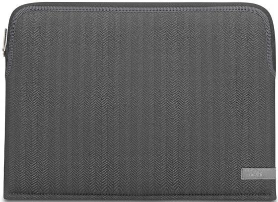 "цена Чехол для ноутбука MacBook Pro 13"" Moshi ""Pluma"" неопрен полиэстер серый 99MO104052"