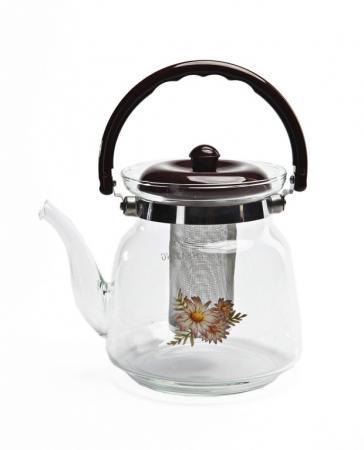 Чайник заварочный стеклянный 2,2 л TK 0038