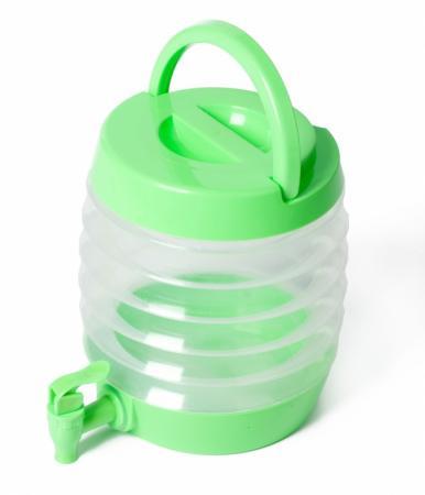 Емкость для напитков с дозатором складная «БОЧОНОК» TK 0092