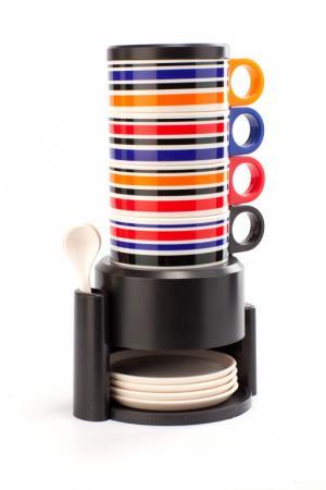 Набор посуды из 12 предметов с подставкой «ЧАЕПИТИЕ» TK 0125