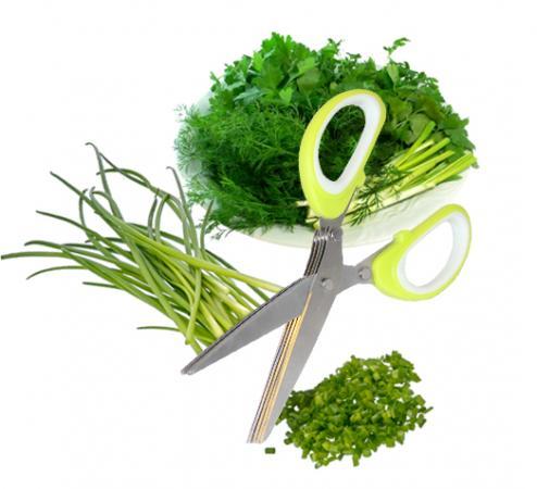 Ножницы для зелени с 5 лезвиями TK 0172 ножницы для орхидей с закругленными лезвиями h16 5