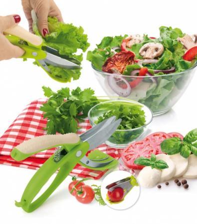 Ножницы для овощей, фруктов и салата «АЛЛИГАТОР» TK 0160 удалитель хвостиков из овощей и фруктов tk 0128