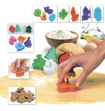 все цены на Набор форм для печенья и мастики «НОВОГОДНЯЯ СКАЗКА» TK 0219