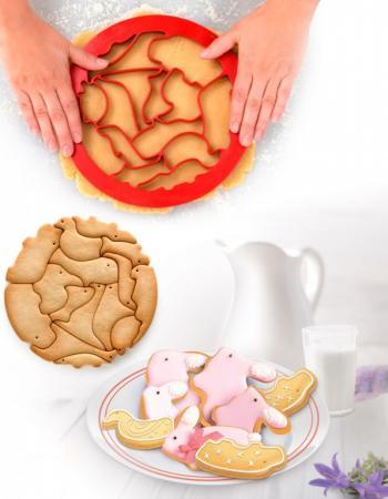 Фото - Форма для вырезания печенья «ЗООПАРК» TK 0214 форма для вырезания печенья gipfel 10 8 10 5 3 см