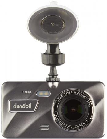 Видеорегистратор Dunobil Eclipse Duo 4 800x480 160° microSD microSDHC датчик удара USB