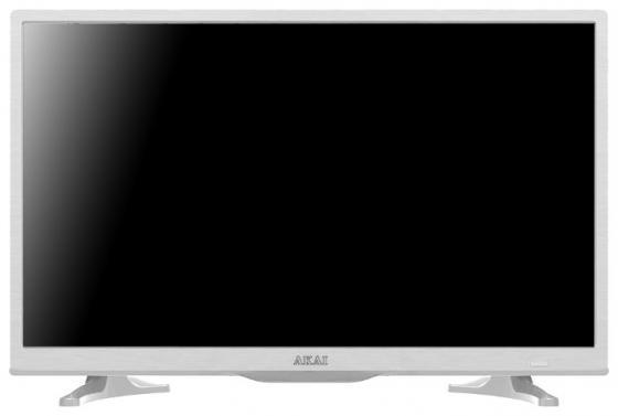 Телевизор 24 Akai LES-24A69W белый 1366x768 50 Гц Smart TV Wi-Fi RJ-45 akai pro ewm1
