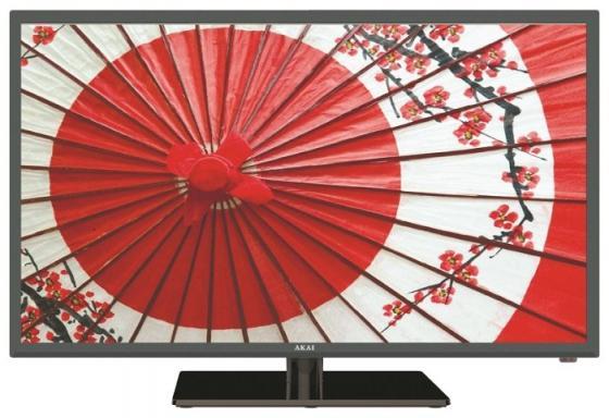 Телевизор 32 Akai LES-32Z73T черный 1366x768 50 Гц Smart TV Wi-Fi VGA RJ-45 WiDi Разьем для наушников телевизор 32 philips 32phs4132 60 черный 1366x768 60 гц usb scart разьем для наушников