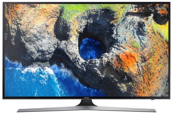 Телевизор 50 Samsung UE-50MU6100UX черный 3840x2160 100 Гц Wi-Fi Smart TV RJ-45 Bluetooth