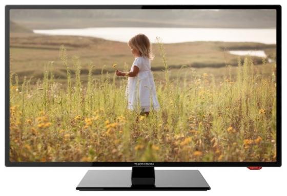 Телевизор 19 Thomson T19RTE1060 черный 1366x768 50 Гц VGA HDMI USB SCART телевизор thomson t19rte1060