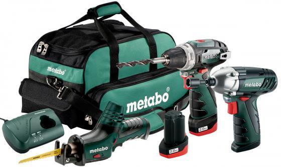 Набор аккумуляторных инструментов Metabo 685057000