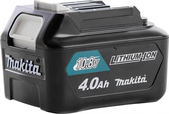 Аккумулятор MAKITA 197403-8 тип bl1040b слайдер 10.8в 4Ач li-ion комплект makita аккумулятор bl1840b li ion 18v 4ah слайдер х2шт зу dc18rc кейс macpac 198310 8