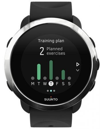 Смарт-часы SUUNTO WATCH BLACK черный силиконовый ремешок хром кант SS050018000 смарт часы huawei watch active mercury g01 черные 55020706