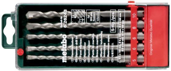 Набор буров Metabo 626243000 бур metabo набор буров sds plus по бетону 626243000