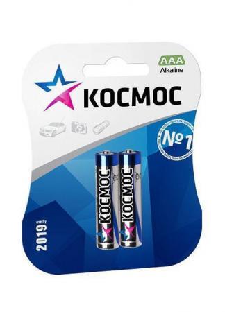 Батарейка КОСМОС R03 AAA (блистер 2шт) батарейка космос kocr20