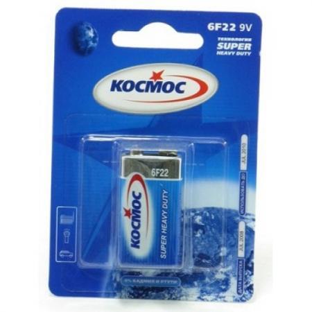 Батарейка КОСМОС KOC6F221BL S 6F22 (блист.1шт.)