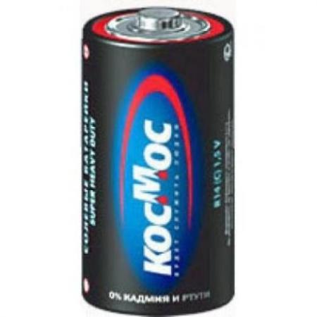 Батарейка КОСМОС R14 2хBL батарейка космос koclr03 24box