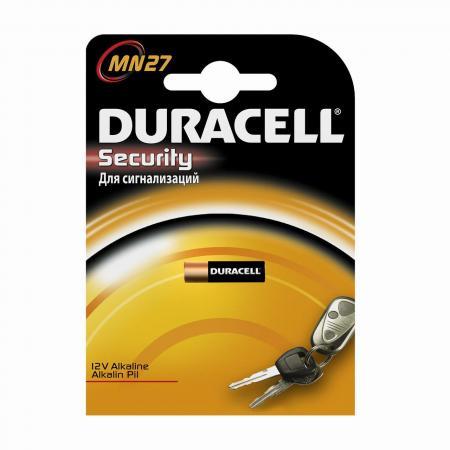 Батарейка DURACELL MN27 (10/100/9600) MN27 12V батарейки duracell mn27 b1 security 12v alcaline