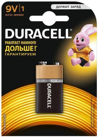 Батарейка DURACELL Duracell 6LR61-1BL/6LF22-1BL/6LP3146 MN BP1 9В 1шт. (крона) цена