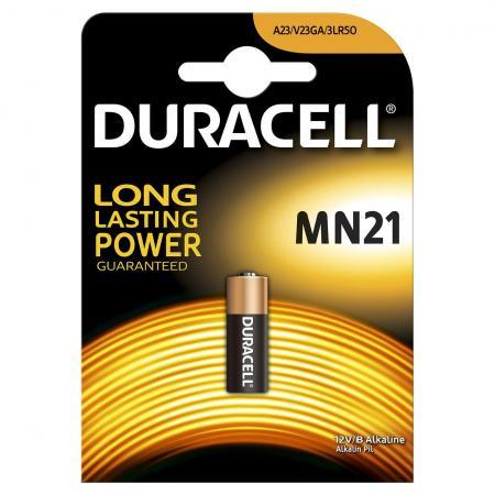 Батарейка DURACELL MN21 (10/100/9600) MN21 / A23 / K23A / LR08 батарейка duracell 12v mn21 a23 1шт