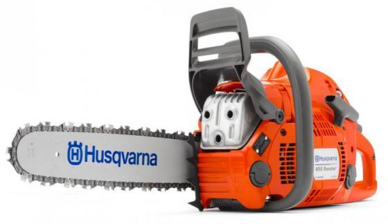 Бензопила HUSQVARNA 455E RANCHER (9667679-15) 2.6кВт 55.5см3 шина 15 цепь 0.325-1.5мм-64 бензопила husqvarna 240 16 3 8 h36 доп цепь 967326001