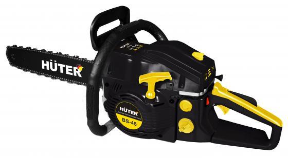 Бензопила HUTER BS-45 1,7кВт 45см3 шина 18 цепь 0.325-1.5мм бак 0.55л бензопила mtd gcs 4600 45