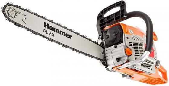 Бензопила Hammer Flex BPL4518B 1.84кВт, 45см3, шина 18 цепь 0.325-1.5мм-72 шина пильная echo 20 3 8 1 5 72 звена s50r73 72aa et