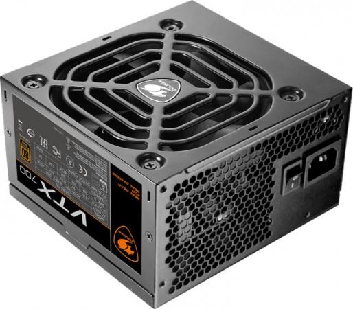 Фото - Блок питания ATX 700 Вт Cougar VTX 700 блок питания accord atx 1000w gold acc 1000w 80g 80 gold 24 8 4 4pin apfc 140mm fan 7xsata rtl