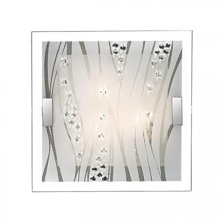 Настенно-потолочный светодиодный светильник Sonex Kadia 1227/CL sonex настенно потолочный светильник sonex lakrima 128 cl