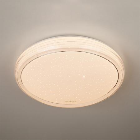 Потолочный светодиодный светильник с пультом ДУ Eurosvet Universal 40007/1 LED белый