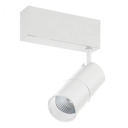 Трековый светодиодный светильник Donolux DL18789/01M White светильник на штанге dl18789 dl18789 01m white