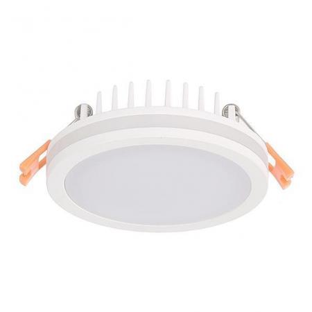 Встраиваемый светодиодный светильник Donolux DL18836/10W White R Dim встраиваемый светодиодный светильник donolux dl18836 10w white r dim