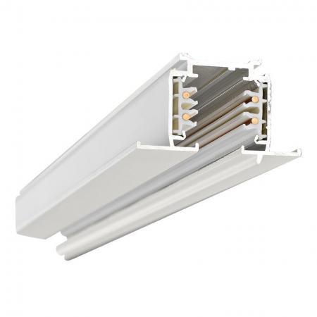 Трёхфазный шинопровод встраиваемый Donolux 2м белый DL0101102 трёхфазный шинопровод накладной подвесной donolux 2м белый dl0201182