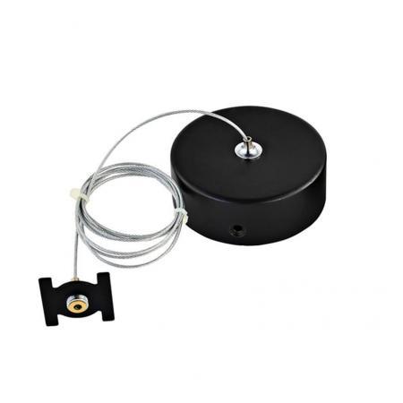 Фото - Комплект подвесной Donolux для магнитного шинопровода Suspension kit DLM/Black мышь delux dlm 110oub black