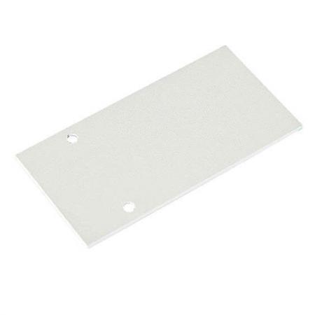 Заглушка для магнитного шинопровода боковая Donolux Cap DLM/White цена