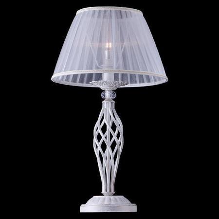 Настольная лампа Eurosvet 01002/1 белый с золотом eurosvet настольная лампа eurosvet 01002 1 белый с золотом