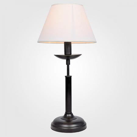 Настольная лампа Eurosvet Hotel 01010/1 черный цена